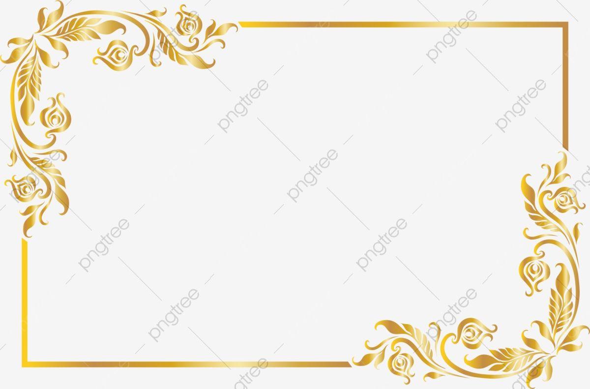 Golden Noble Frame Frame Clipart Golden Honorable Png Transparent Clipart Image And Psd File For Free Download Poster Background Design Creative Poster Design Digital Frame