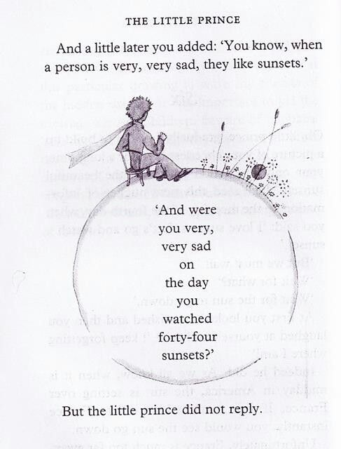 The Little Prince Quote I Love This Book Its One Of My Favorites