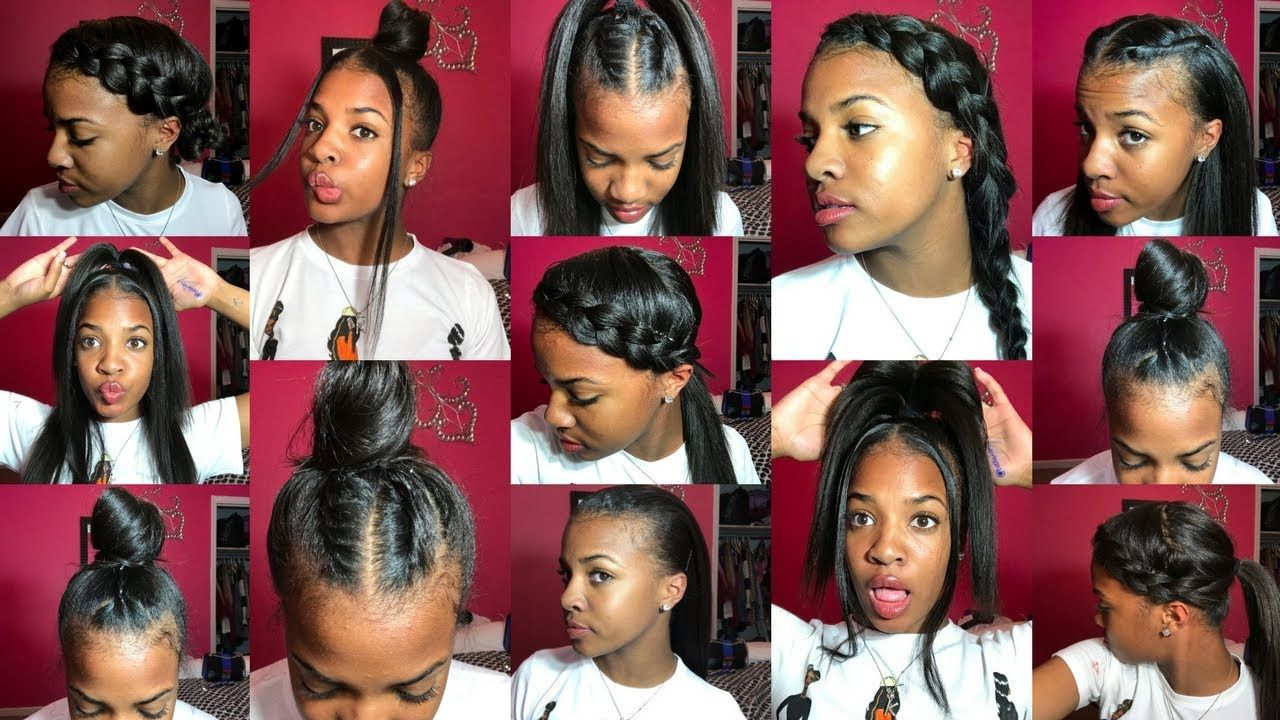 13 Styles For Straight Natural Hair 1K GIVEAWAY YouTube