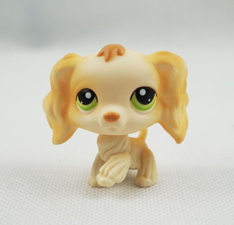 8 99 Littlest Pet Shop Lps 347 Puppy Cocker Spaniel Dog Yellow Cream Green Eyes Toys Ebay Collectibles Lps Littlest Pet Shop Pet Shop Lps Dog