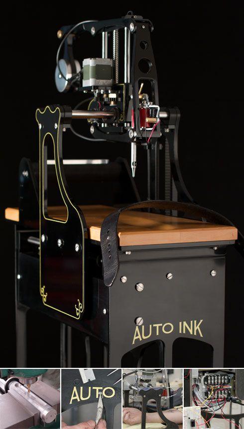 Automatic Tattoo Machine : automatic, tattoo, machine, Arduino, Playground, ArduinoUsers, Tattoo, Machine,, Equipment,