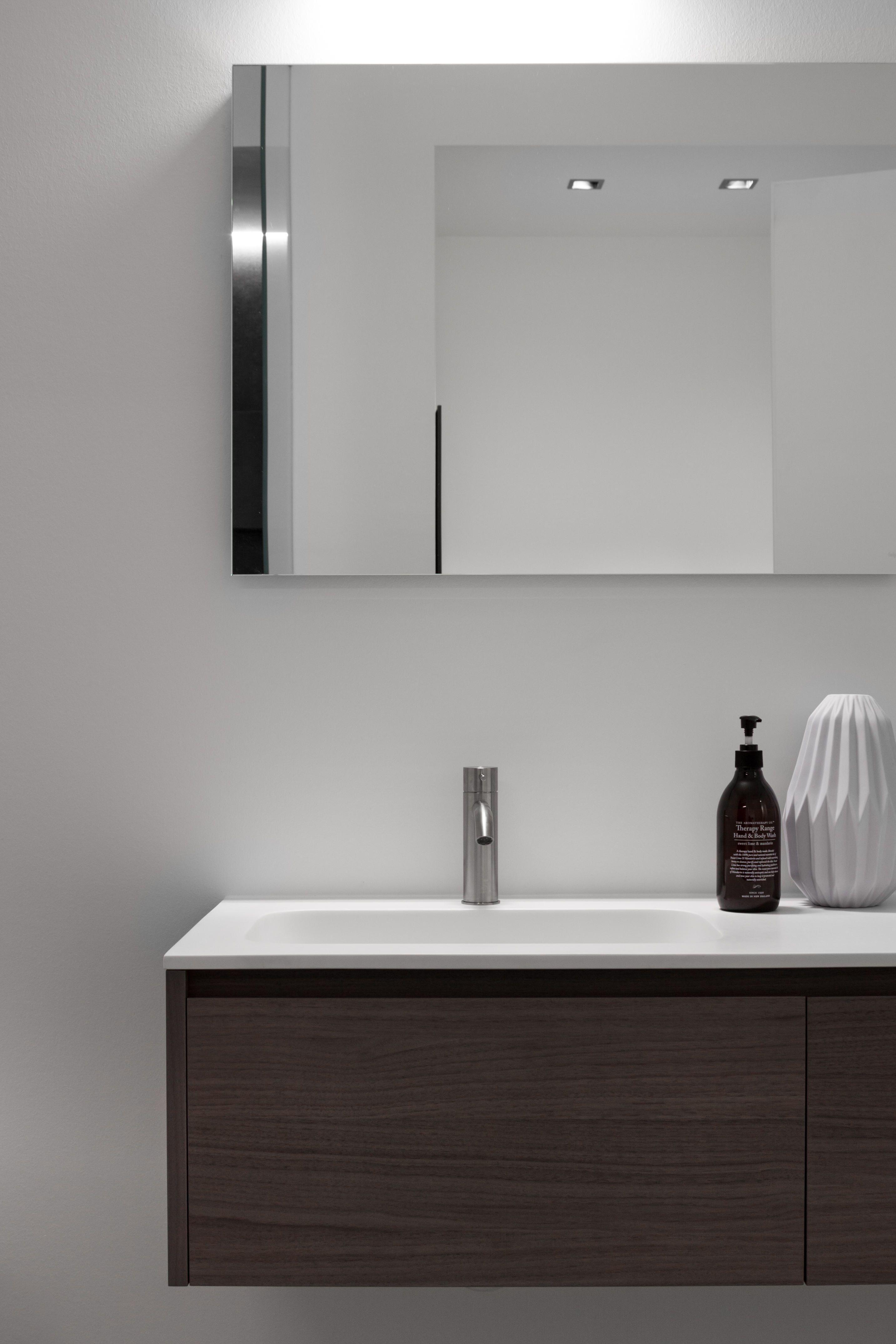 Minimalist bathroom / Furniture & wash basin by Falper / tab by CEA Design