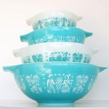 Bowls pyrex vintage Pyrex Bowls