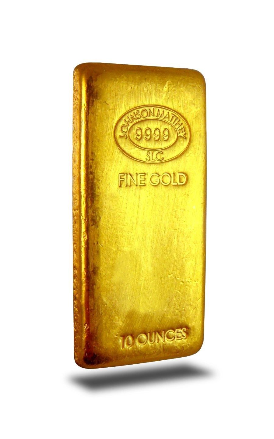 10 Ounce Johnson Matthey 9999 Fine Gold Bar Gold Bullion Bars Gold Coins For Sale Gold Bullion