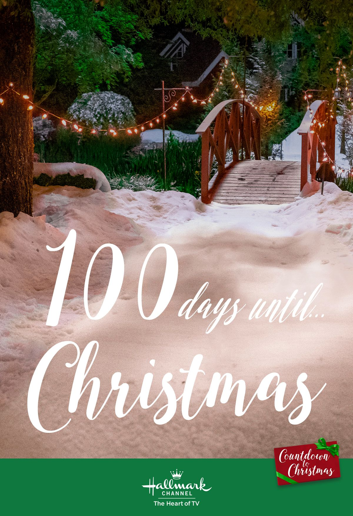 100 days til Christmas! Countdown to Christmas with 22 new
