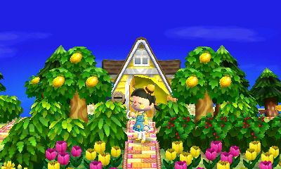 awww love this lemony mayors house+garden design