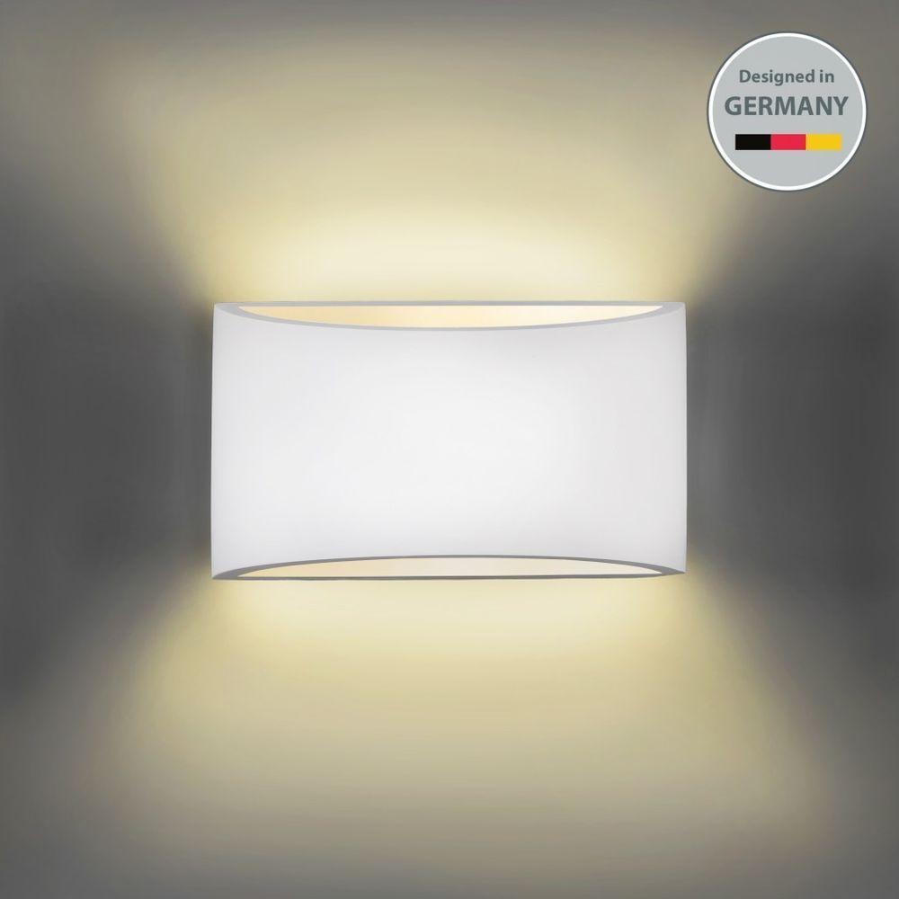 details zu wandleuchte wand lampe strahler spot flur licht weiss wohnzimmer beleuchtung led. Black Bedroom Furniture Sets. Home Design Ideas