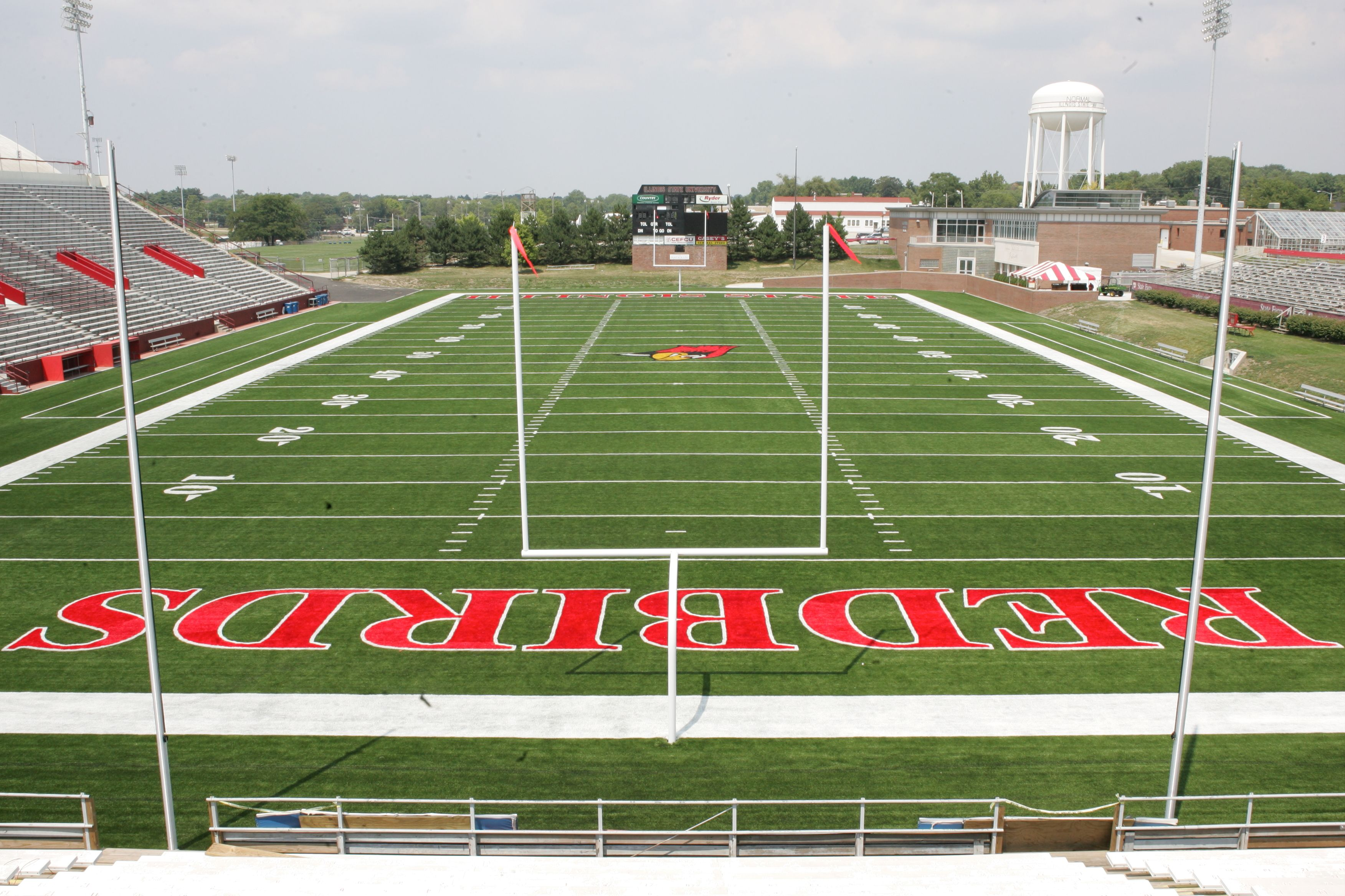 Hancock stadium ohh yeahhh stadium soccer field field