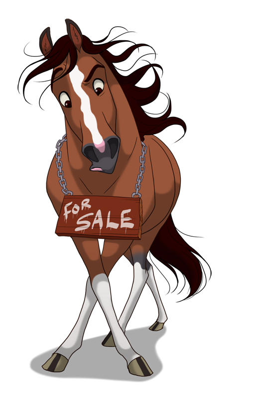 FOR SALE... by *WildHearts on deviantART Horse cartoon