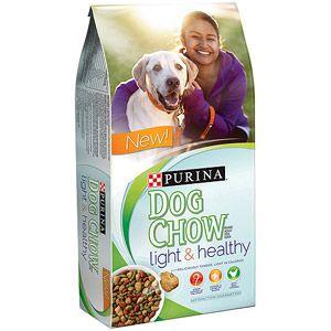 Purina Dog Chow Light Healthy Dog Food 16 5 Lb Great Pet Food