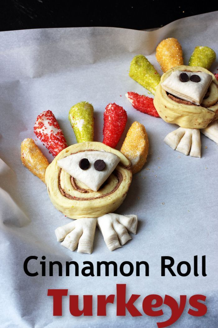 Cinnamon Roll Turkeys Cinnamon Roll Turkeys | Life as Mom - Turkey is tradition for Thanksgiving Dinner, but have you ever considered having it for breakfast? These Cinnamon Roll Turkeys will wow your kids!