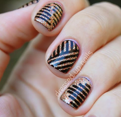 26 Gorgeous Great Gatsby Inspired Manicures Pinterest Manicure