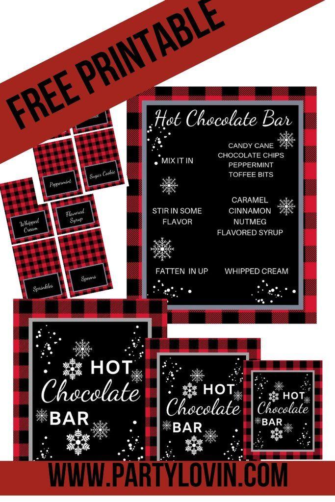 FREE PRINTABLE Come one, Come All Circus Invitation #hotchocolatebar