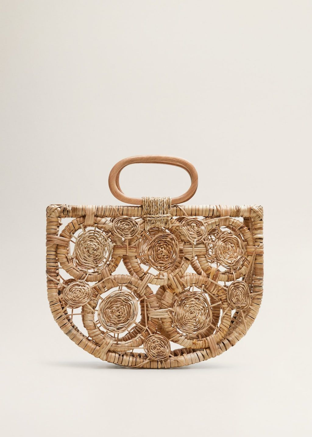 ad651626bf Handmade raffia bag - Women in 2019 | Bags Bags Bags | Bags, Wooden ...