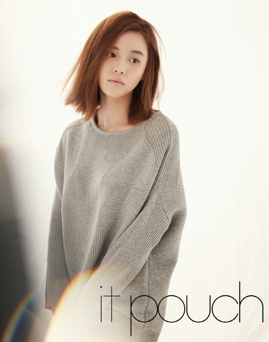 Go Na Eun It Pouch Magazine March Issue 2014 Hair