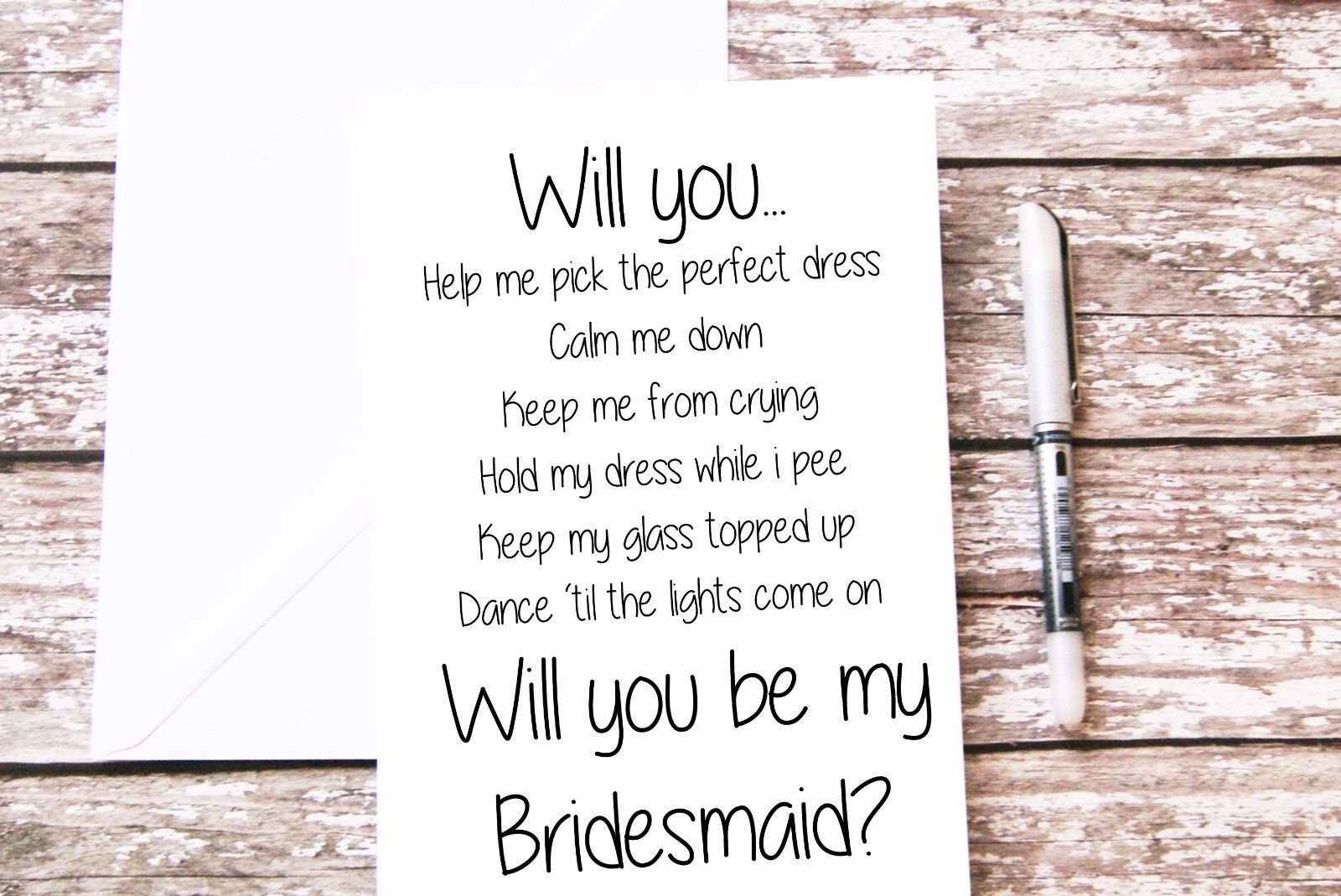 Will you be my Flower Girl Ring Bearer and Junior bridesmaid