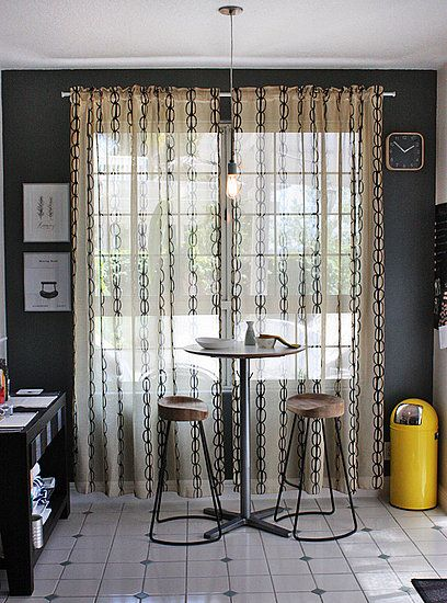 Beautiful Kitchens · Casa Sugar Blog Post. Vilmie Curtains IKEA