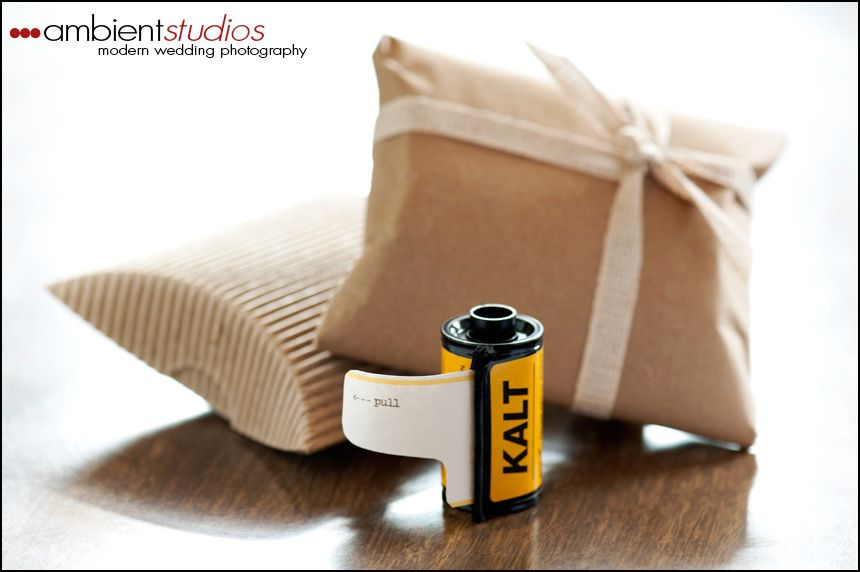 how to make film canister wedding invitations%0A Photographers u     Wedding Invites Made From Repurposed Film Canisters    TreeHugger