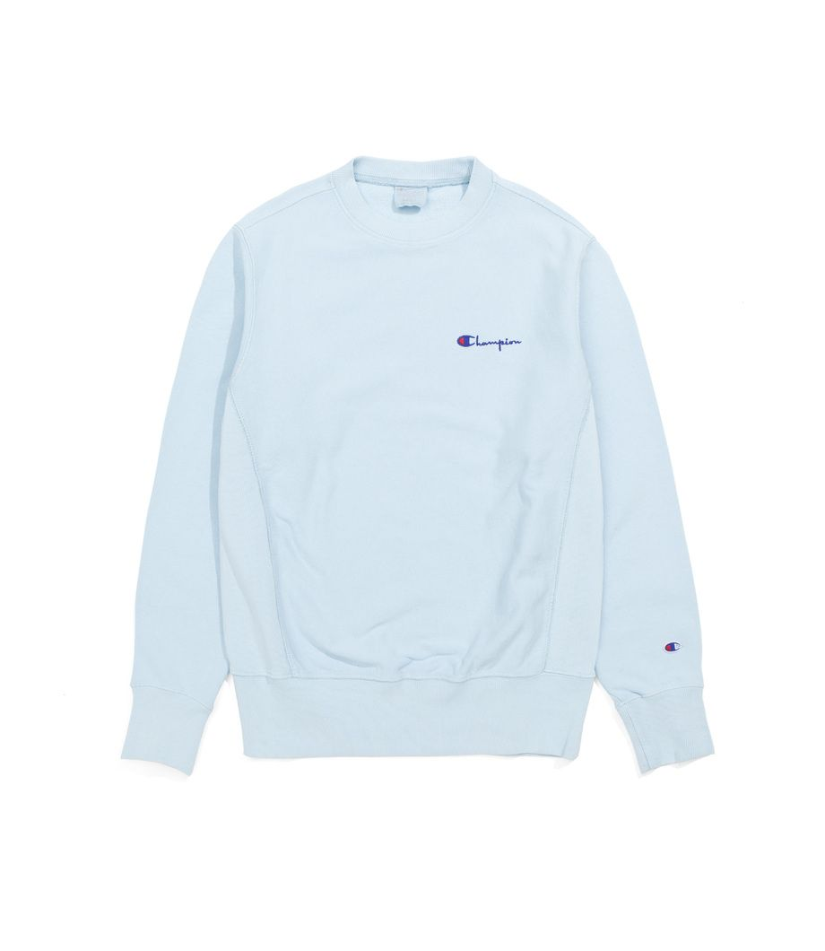 Champion Crewneck Sweatshirt Champion Logo Blue Champion Crewneck Sweatshirt Sweatshirts Dream Clothes [ 1060 x 920 Pixel ]
