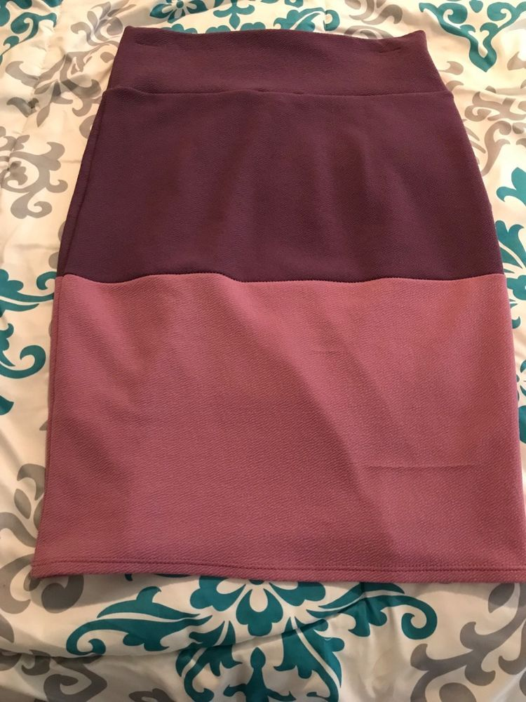 24db3dd42 Lularoe Cassie Pencil Skirt Purple Stripe Small stretchy #fashion #clothing  #shoes #accessories #womensclothing #skirts (ebay link)