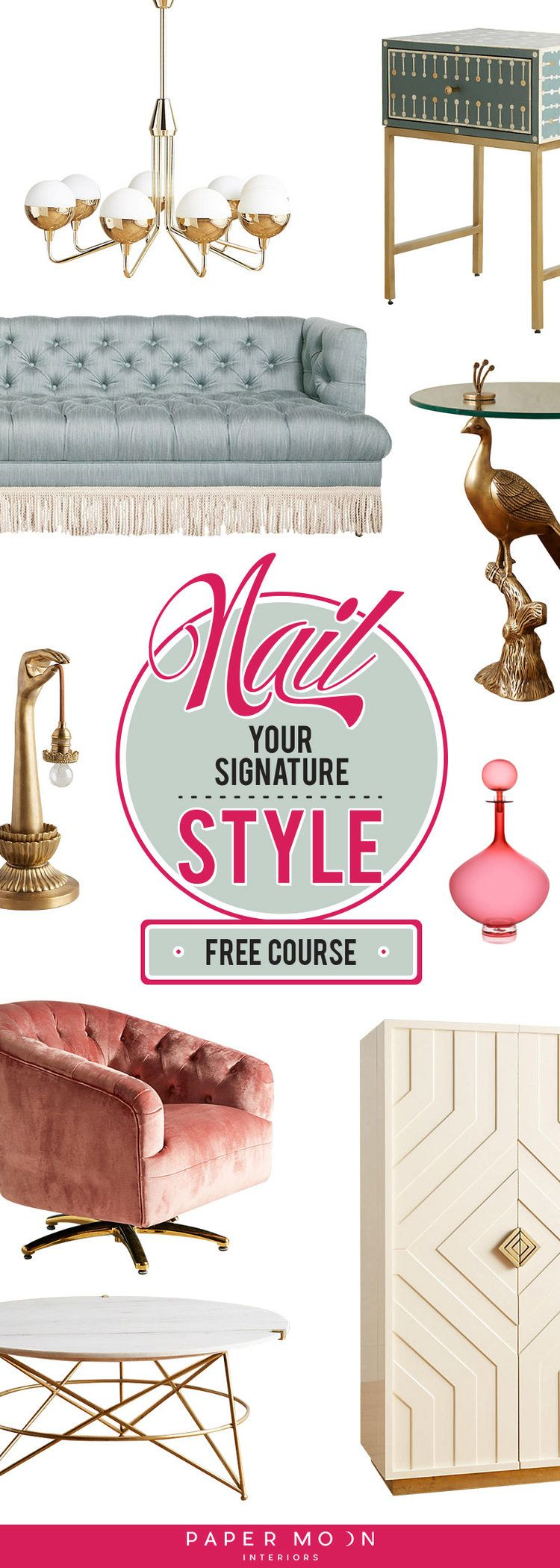 It's time to nail your signature interior design style