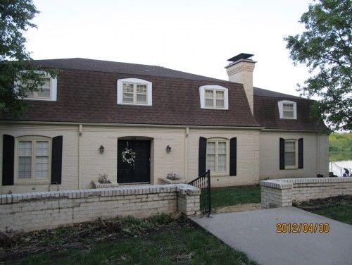 How To Update My Mansard Roof Home Help Houzz Mansard Roof