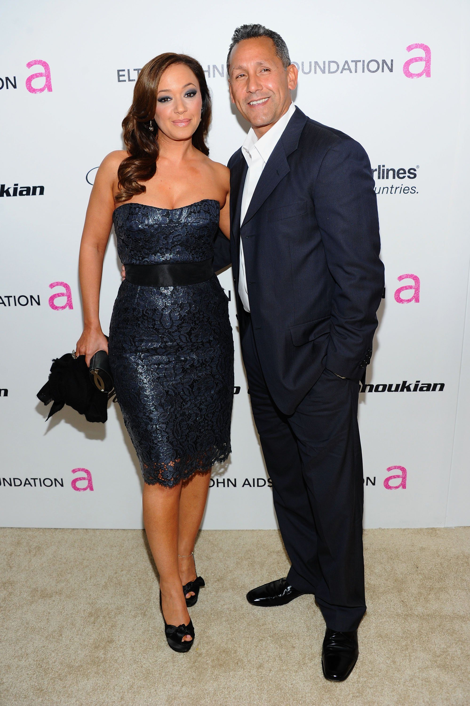 Leah Remini with fiancee Angelo Pagan - The Lili Clair Foundation 1st  Annual Benefit Dinner and AuctionPhoto by: Denise Truscello/WireImage.com