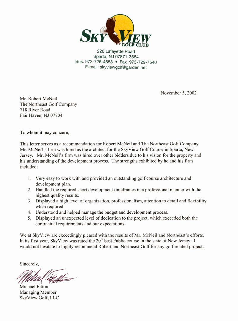 Country Club Letter Fresh the northeast