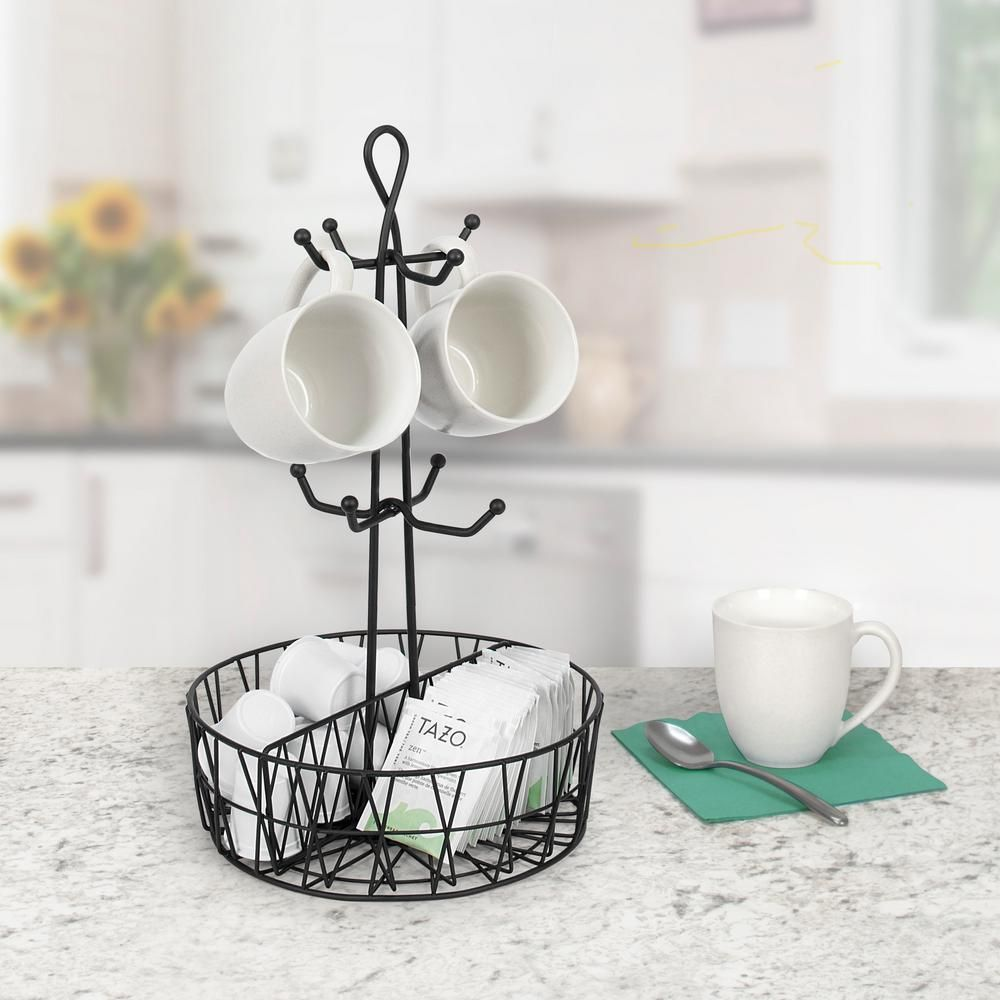 Coffee Mug Holder Hook Cup Stand Tree