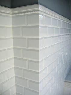 Beveled Subway Tiles Corner Google Search Beveled Subway Tile Bathroom Remodel Designs Beveled Subway Tile Bathroom