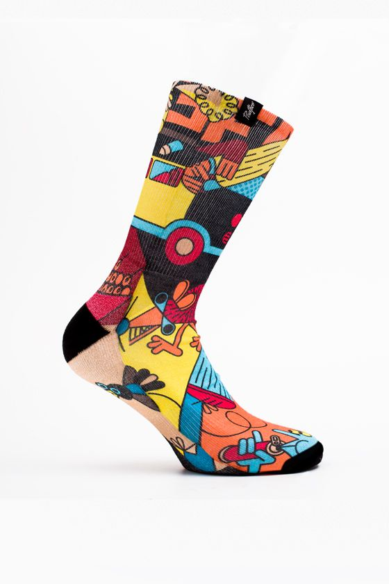 SAWE Art Socks - |The Guest | PACIFIC and Co.