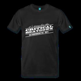 Critical Beatdown - TShirt | Webshop: http://hiphopgoldenage.spreadshirt.com/critical-beatdown-A16450958/customize/color/2