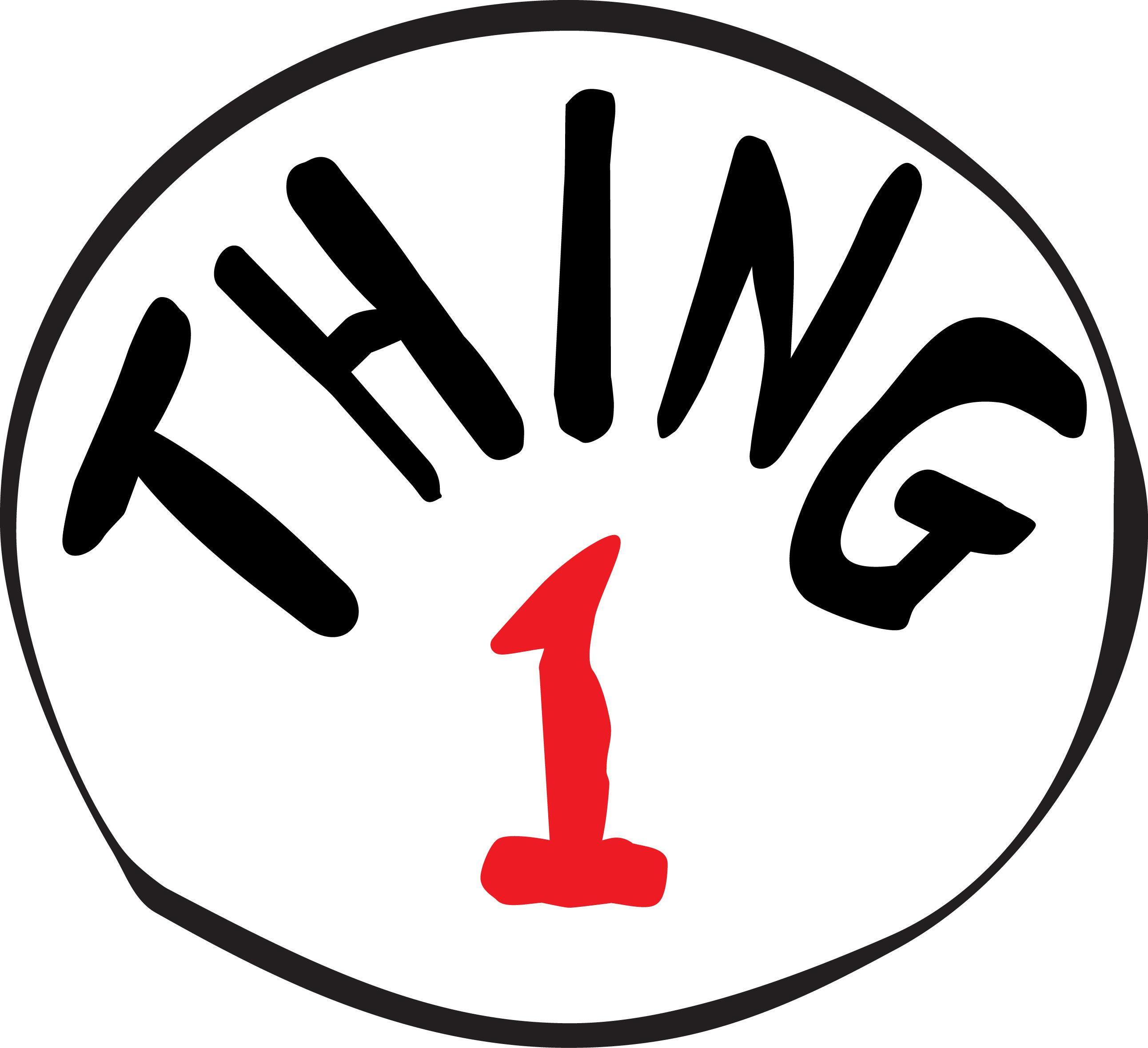 thing one and thing two clip art masterpeace by design blog from rh pinterest ie  thing one and thing two clip art free