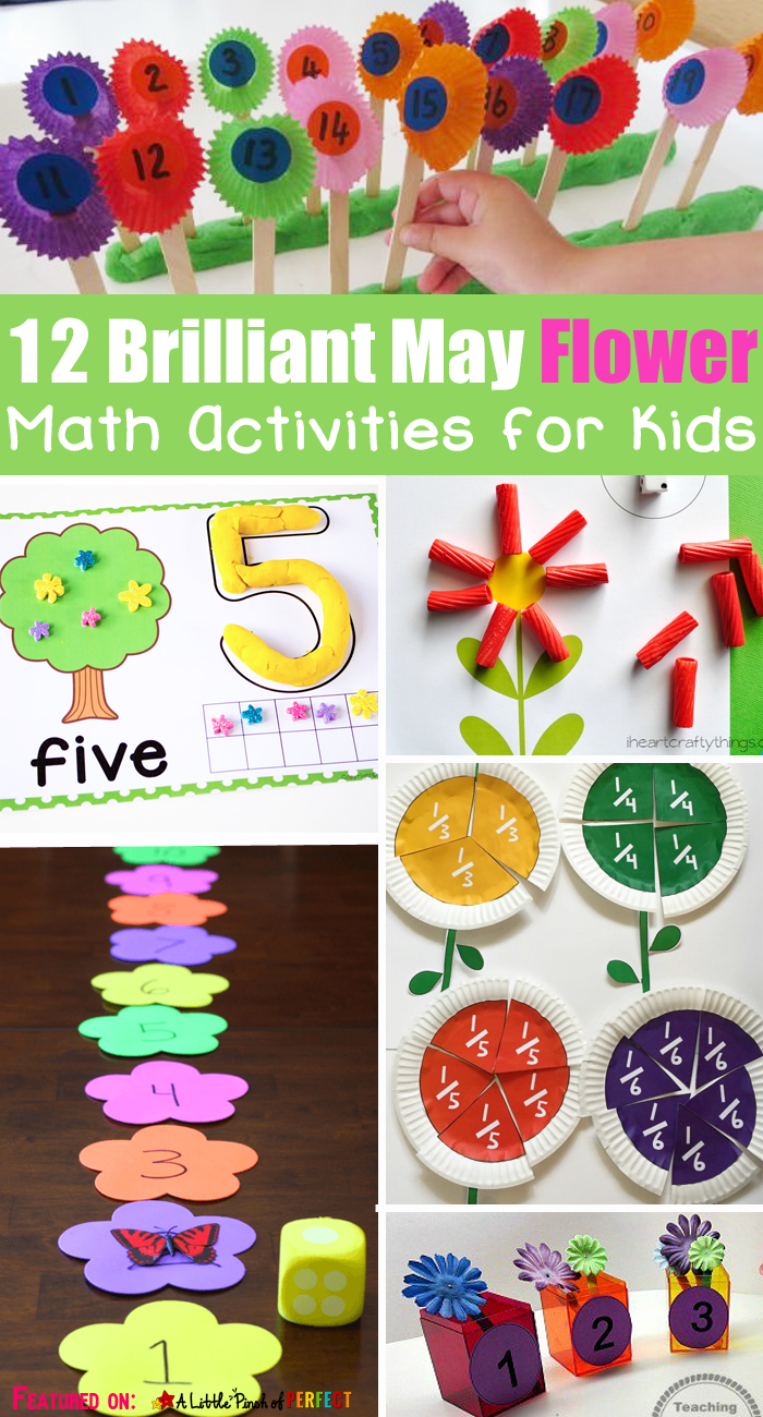 12 Brilliant May Flower Math Activities for Kids - | Number ...