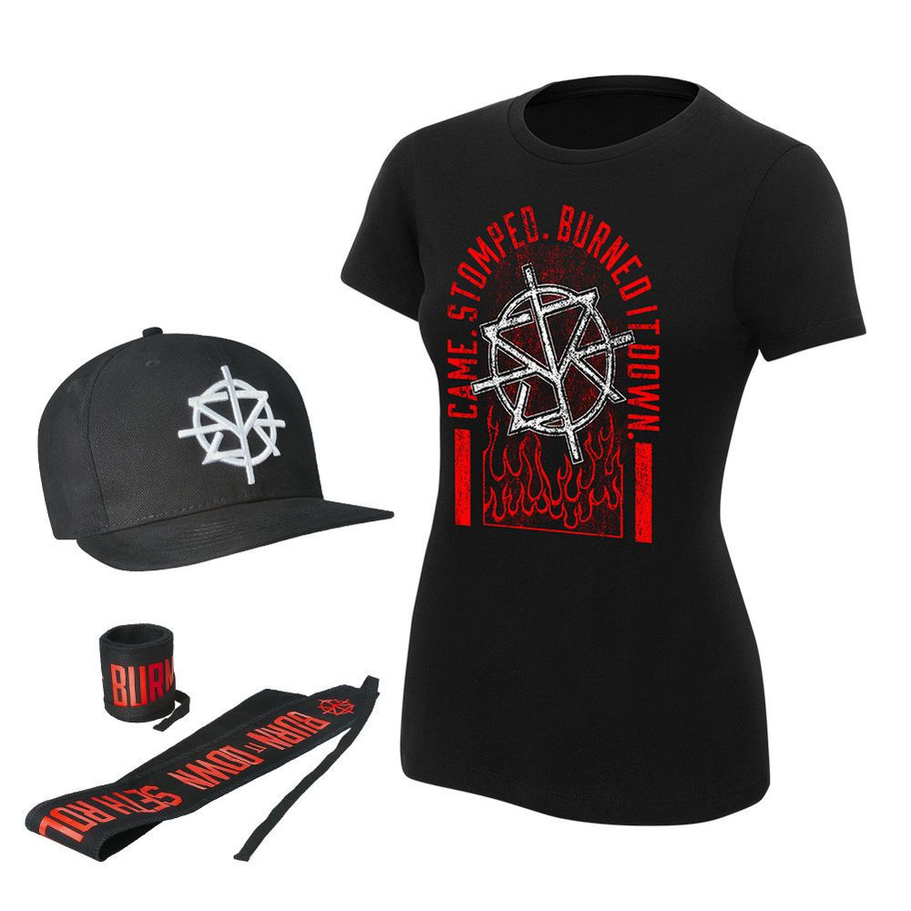 60977707119bd WWE Seth Rollins Hat New Official WWE Merch Baseball Cap Seth Freakin  Rollins Wrestling