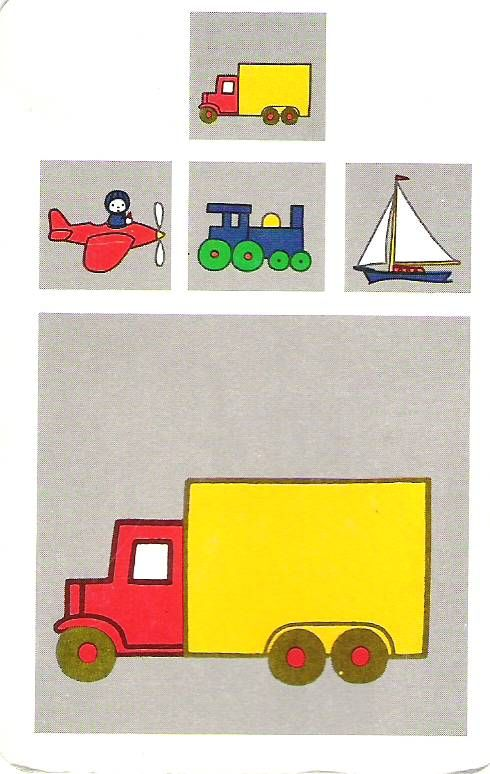 vrachtwagen   Musti en Nijntje - Fimo