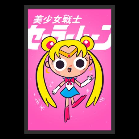 Poster Sailor Moon de @vitormrtns | Colab55