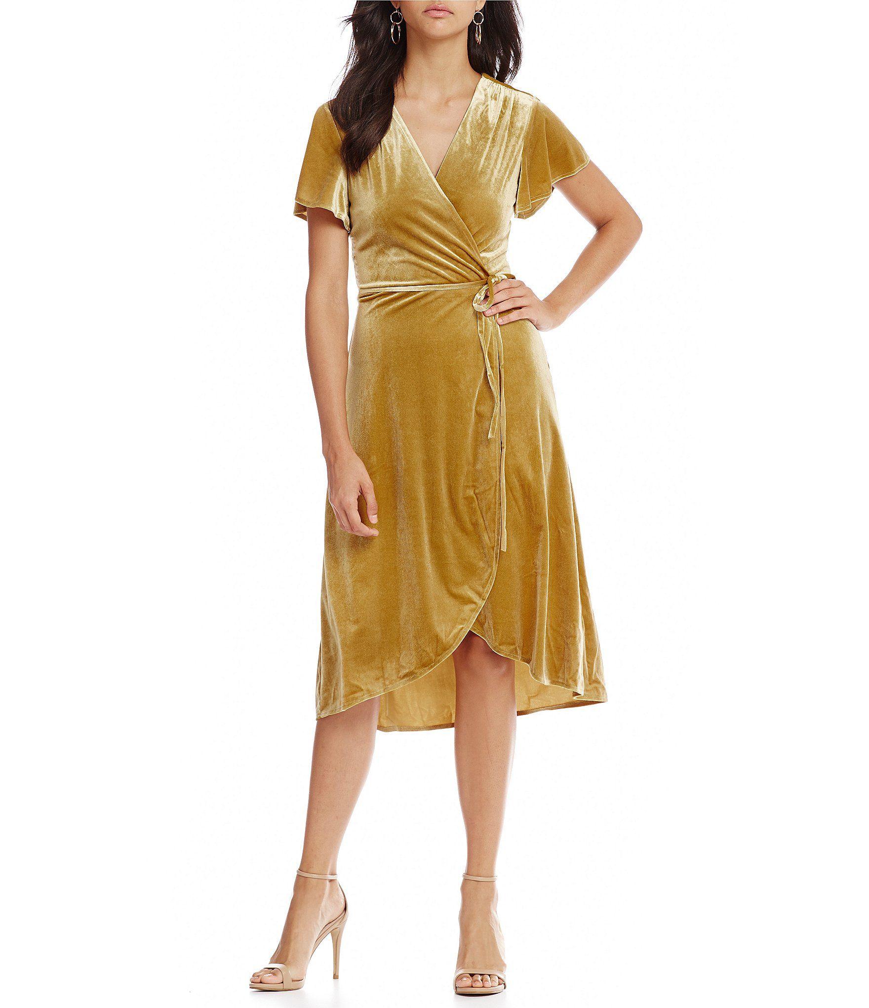 1c866cf9fd31 Shop for Lucy Paris Veronica Velvet Wrap Dress at Dillards.com. Visit  Dillards.com to find clothing
