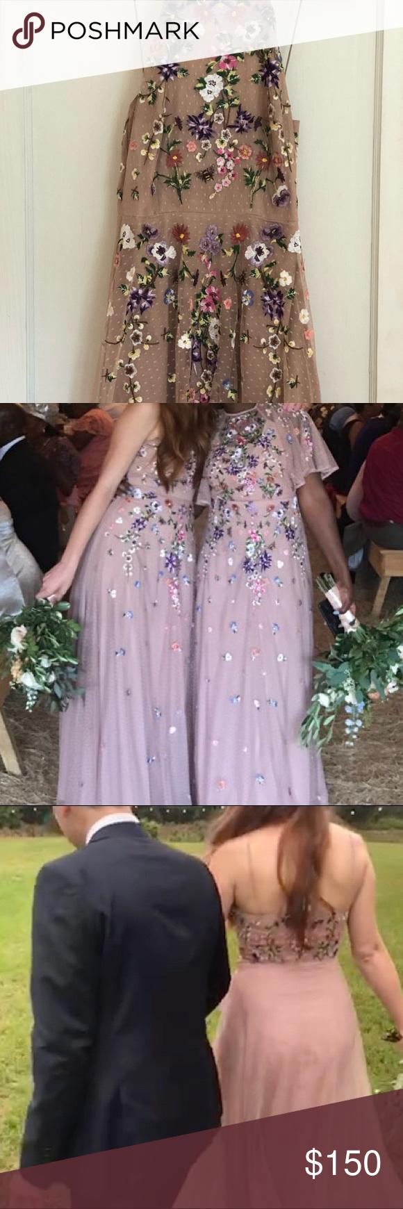 Asos Floral Embroidered Dobby Mesh Cami Maxi Dress Asos Bridesmaid Maxi Dress Wedding Guest Wedding Guest Dress [ png ]