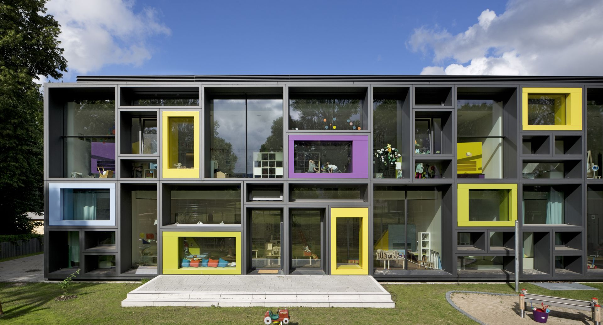 Gallery Of Beiersdorf Childrens Day Care Centre - Home daycare design ideas