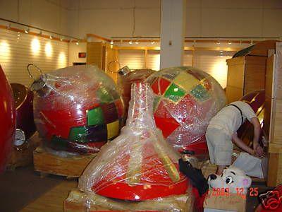 US $26,50000 50 + EX LARGE CHRISTMAS ORNAMENTS eBay - Treasures