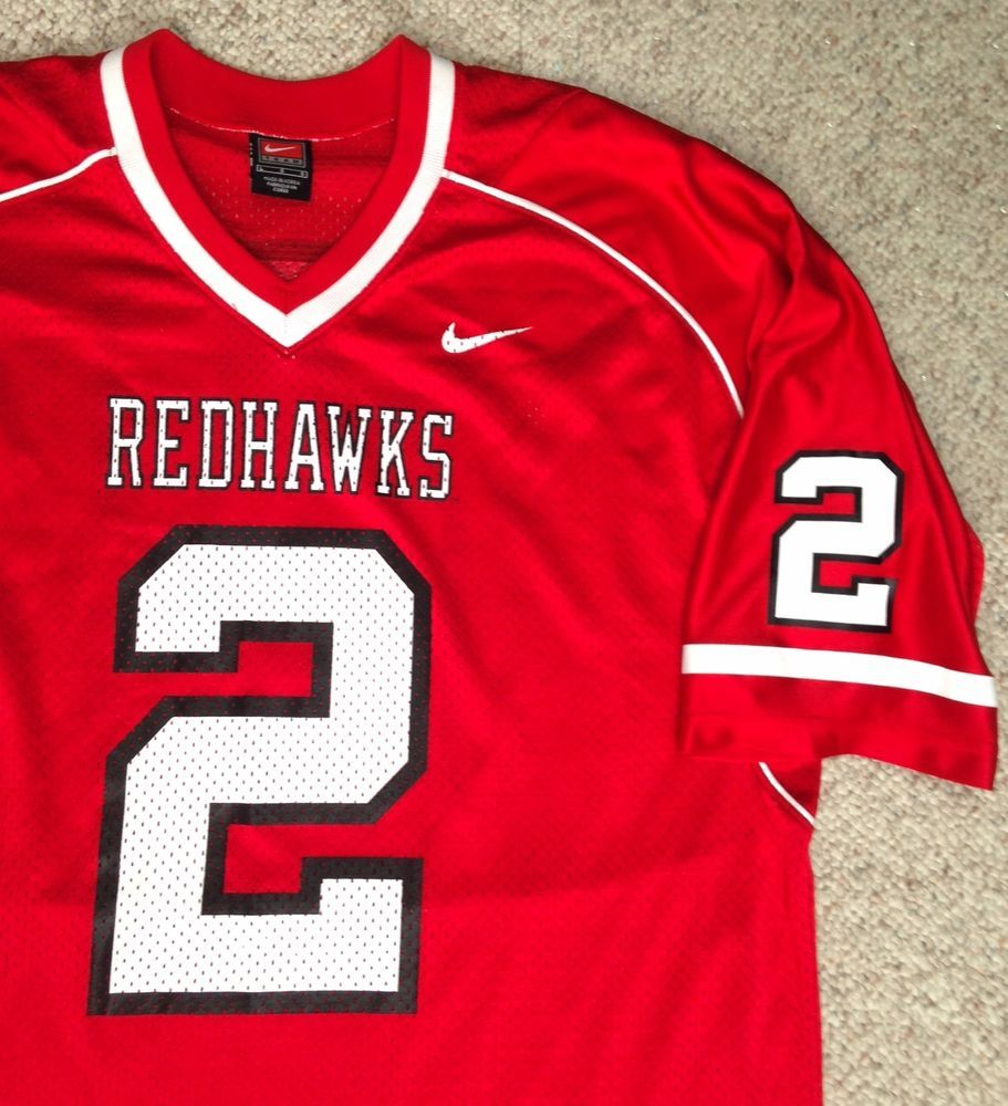 buy online 54197 c95a2 Mens(Lrg) Nike MIAMI REDHAWKS FOOTBALL JERSEY #2 No-Name Red ...