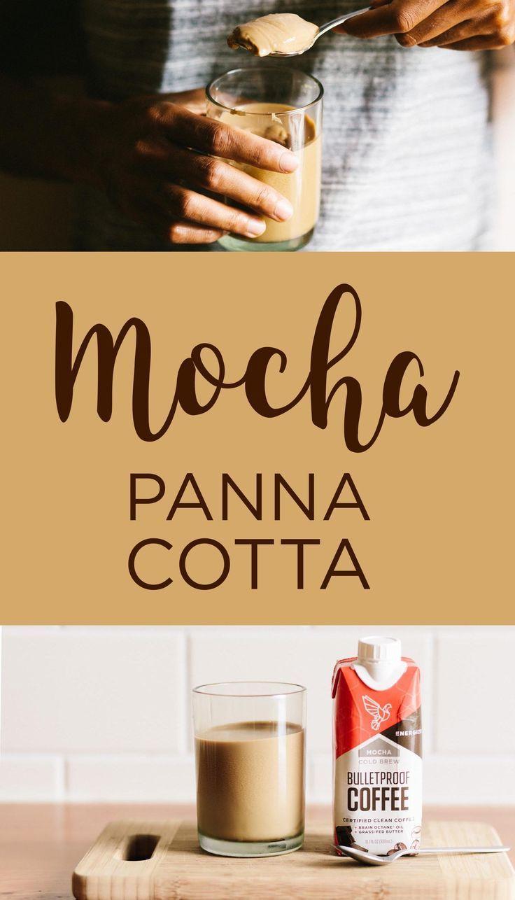 Coldbrew mochacoffee panna cotta mocha coffee coffee