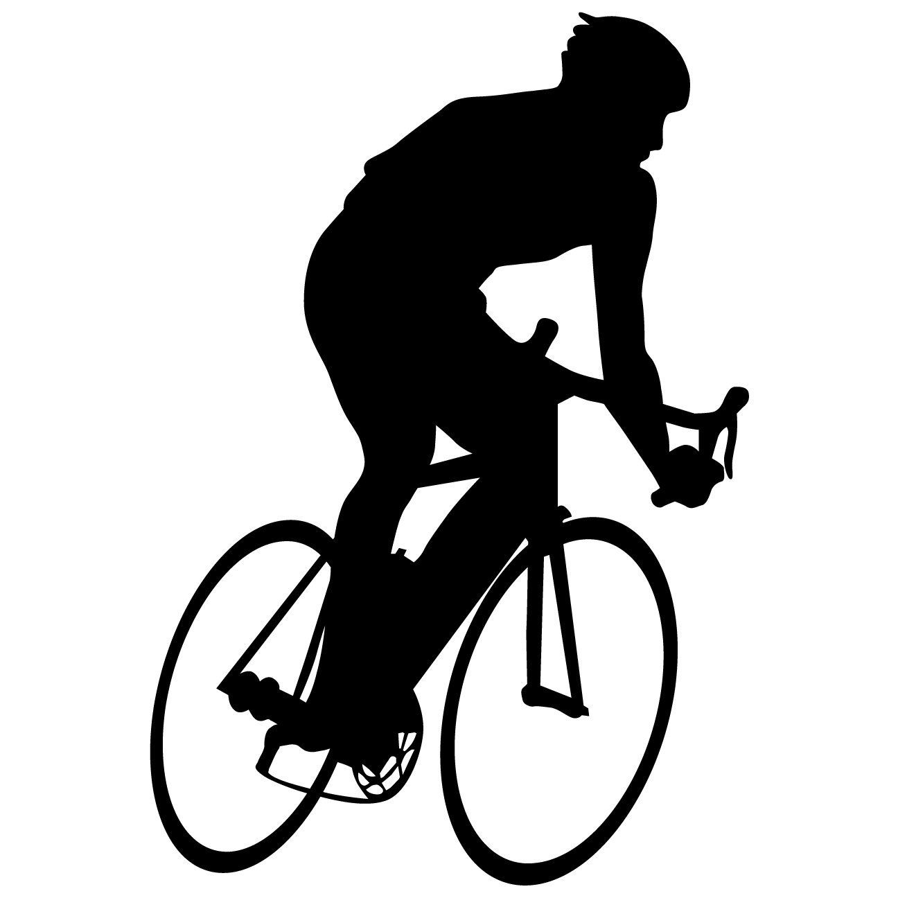Bicycling Wall Decal Sticker 9