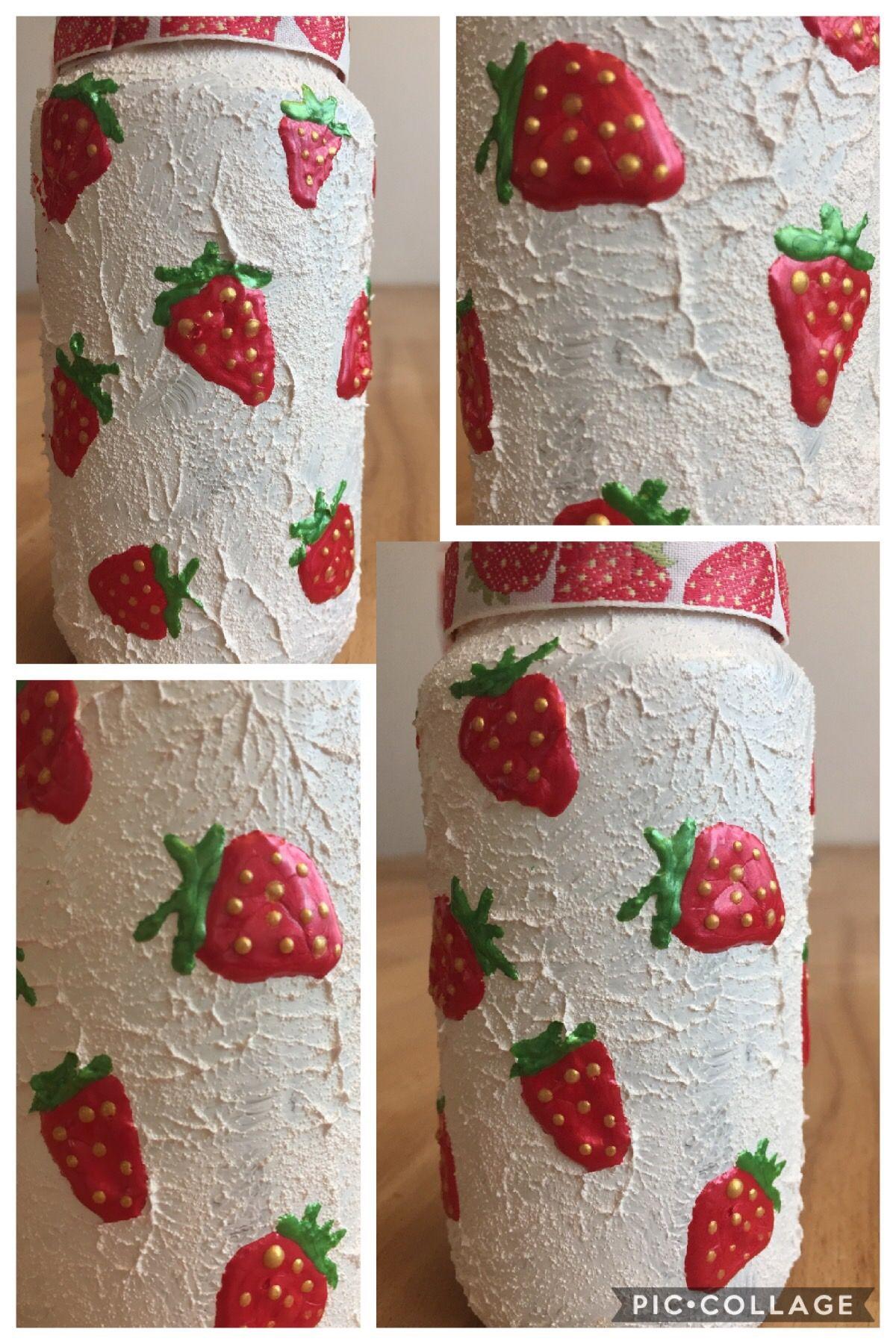 Gonis Reliefpaste Decor Pointer Erdbeeren Glaschen Gonis
