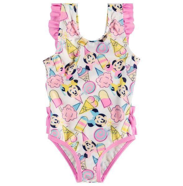 4da058cfcd4a6 Disney baby #girls minnie mouse ice cream pink swimming costume #swimsuit  #swimwe,