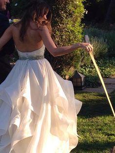 sutton foster wedding dress - Google Search | Wedding | Pinterest