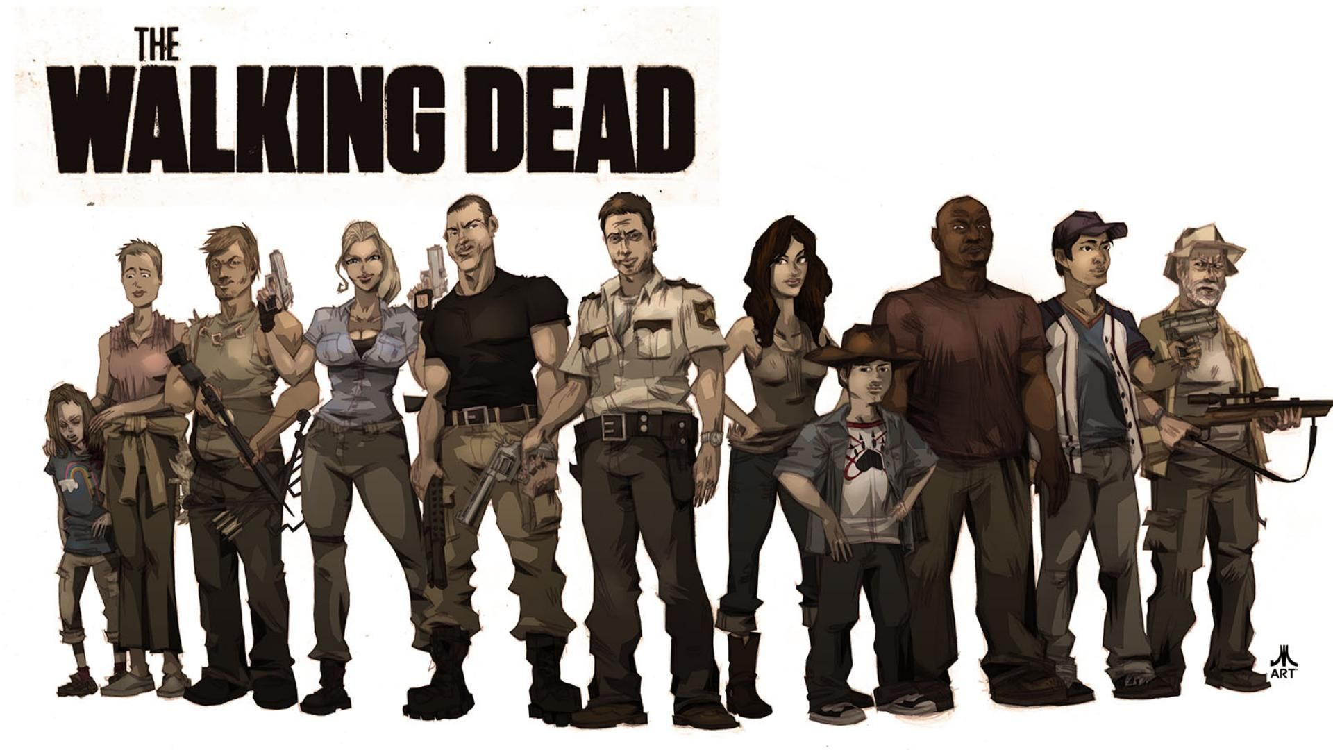 The Walking Dead Desktop Backgrounds