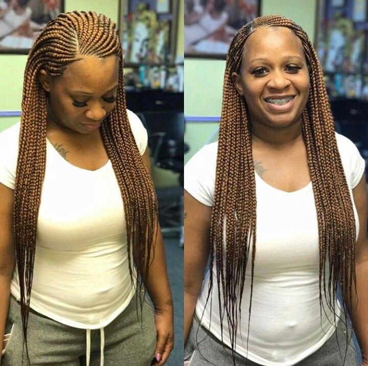 Pin By Felicia Rhodes On Braids Scalp Braids Hair Styles Braided Hairstyles