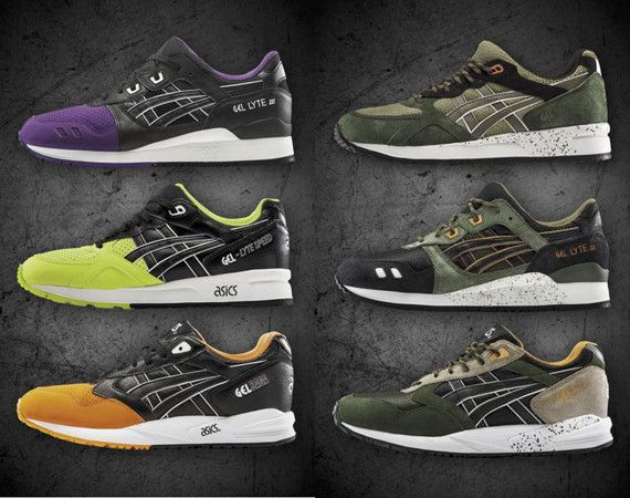 ASICS Fall 2015 Footwear Collection | Preview